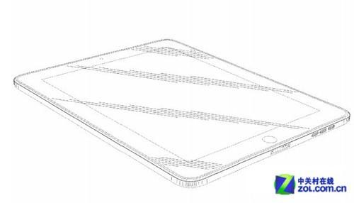 矩形圆角 苹果在美再获得ipad外形专利
