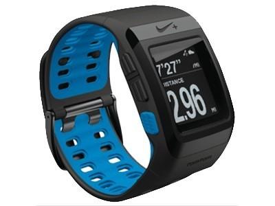 TomTom 耐克NIKE+SportWatch GPS运动腕表Powered by TomTom(黑蓝 不含Apple传感器)