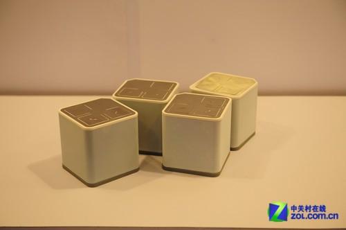 音响展2012:惠威展出数码音响E-CUBE
