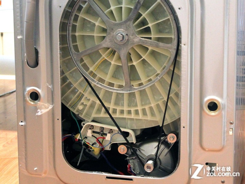 三星滚筒洗衣机拆解图片