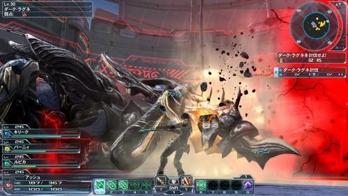 可与PC互动 PSV《梦幻之星OL2》视频