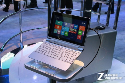 CES 2013:多款平板电脑亮相Intel展台
