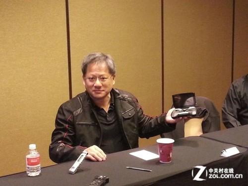 NV总裁黄仁勋专访:Shiled不是游戏机