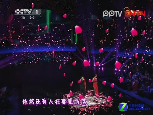 8千平米LED 2013春晚舞�_�o力�O�洳孪�