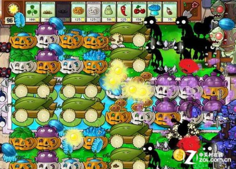 【僵尸图】植物高清略图模式无限秘籍八炮流攻大战2最难解密游戏攻略2040图片
