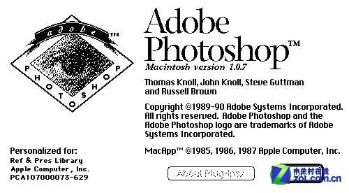 Adobe发布Photoshop1.0.1源代码