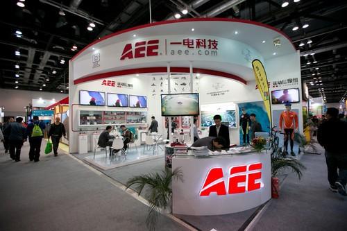 亚洲运动用品时尚展开幕 AEE携新品亮相