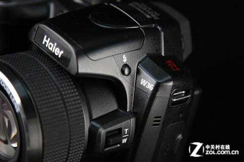 更多相机结构赏析_海尔 dc-w36_数码影像评测-中关村