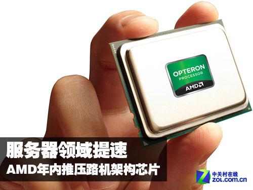 服务器领域提速 AMD年内推压路机架构芯片