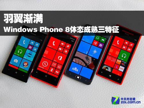 羽翼渐满 Windows Phone 8体态成熟三特征