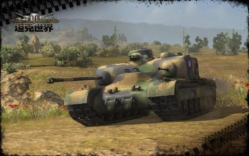 钢铁猛兽来临《坦克世界》英系坦歼威震八方