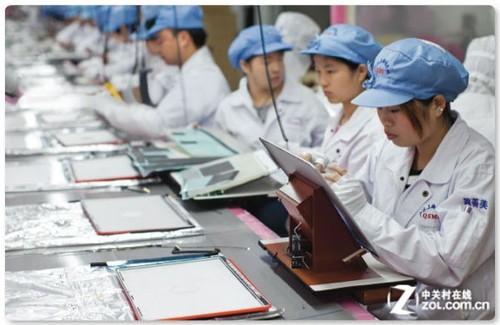 苹果iPhone需求降低 富士康销售额降19%