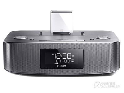 Philips/飞利浦 DC295/93 iphone5/6 mini pad nano7 苹果底座音箱 音响 音乐底座银色