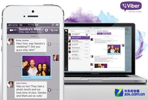 免费网络电话Viber发布桌面应用:总用户破2亿
