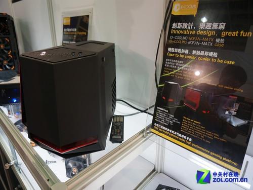 散热器新贵 ID-COOLING现身台北电脑展