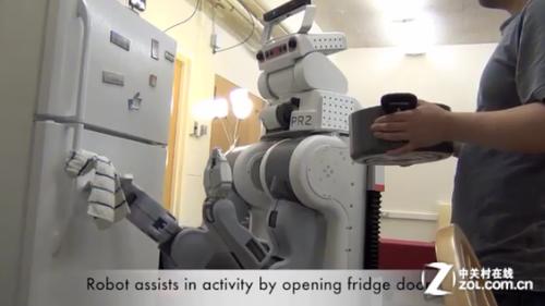 """美大学开发""""读心术""""机器人:预测用户动作"""