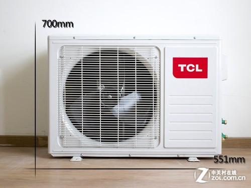 """专利散热翅片 拆解TCL""""钛金""""变频空调"""