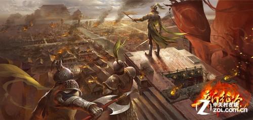 《新征途》开启网游大时代 10万人同场竞技