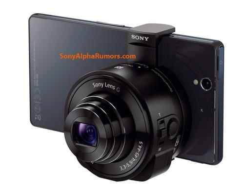 影像 索尼智能手机外接镜头模块