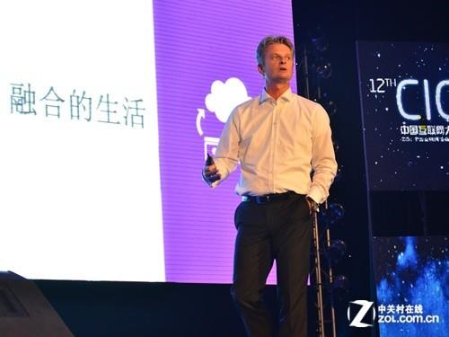 微软中国CEO贺乐赋:云服务推动社会变革