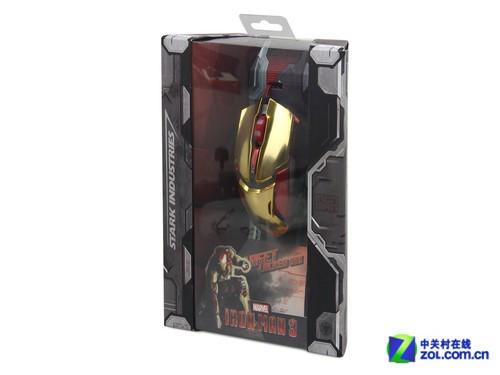 宜博钢铁侠3纪念版极光狂蛇游戏鼠标评测