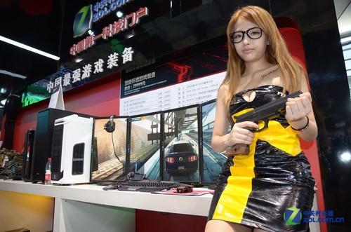 优派5屏梦幻游戏装备助阵213ChinaJoy