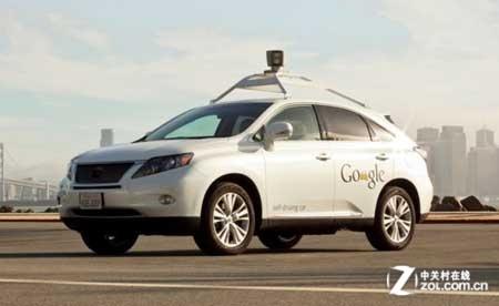 无人驾驶汽车,也是google被批准在美国商用的第一款无人驾驶高清图片
