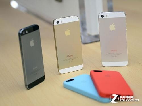 指纹识别+64位A7 国行苹果iPhone5s试玩
