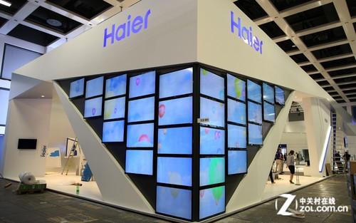 极致纤薄 国内首款海尔OLED电视亮相