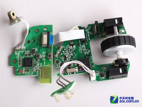 该电路板主要负责鼠标无线信号传输