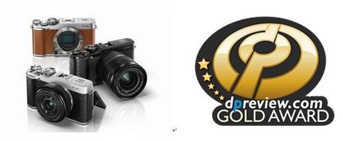 富士轻便型可换镜头相机X-M1  荣获DPReview金奖