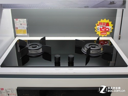 高端时尚安全 方太燃气灶售价3098元