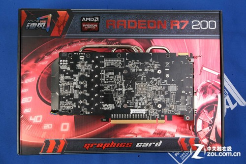AMD最新技术全支持 镭风R7-260X售1069