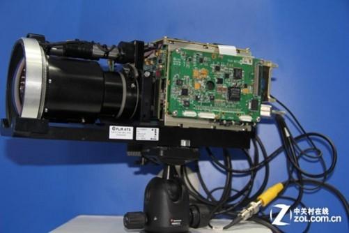 监控摄像机内部电路板