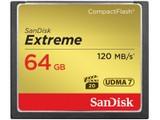 闪迪至尊极速CompactFlash卡(64GB)SDCFXS-064G