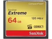 闪迪 至尊极速CompactFlash存储卡(64GB)/SDCFXS-064G