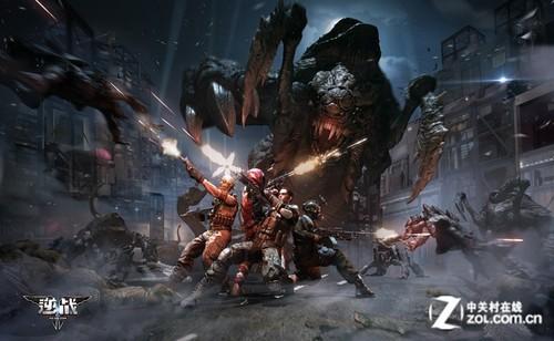 《逆战》游戏宣传海报