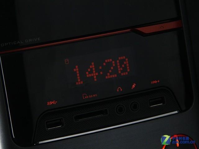 机箱自带液晶屏 华硕M33台式机多图前瞻