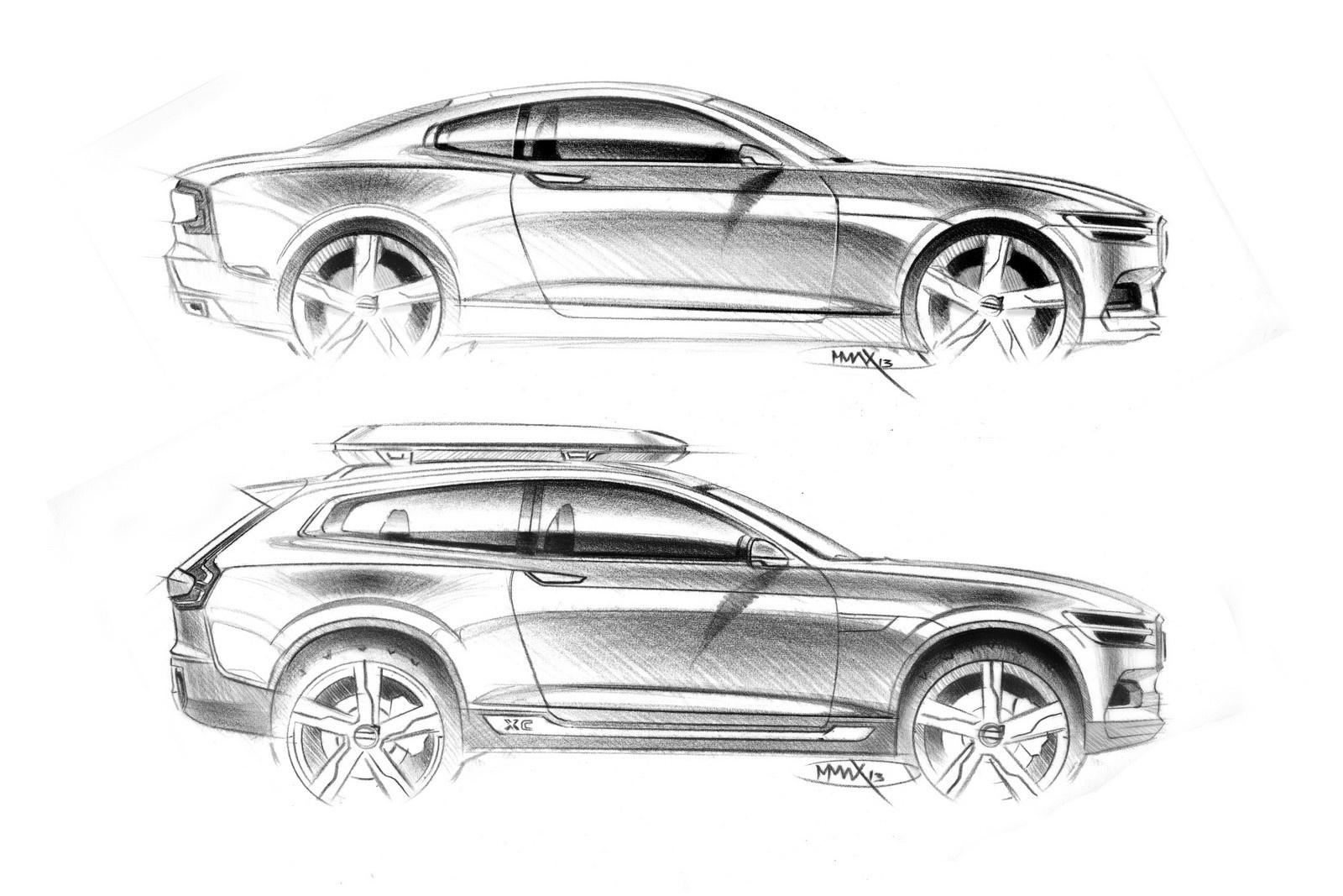 coupe概念车为设计元素,而关于未来全新xc90的推出时间,沃尔沃汽车