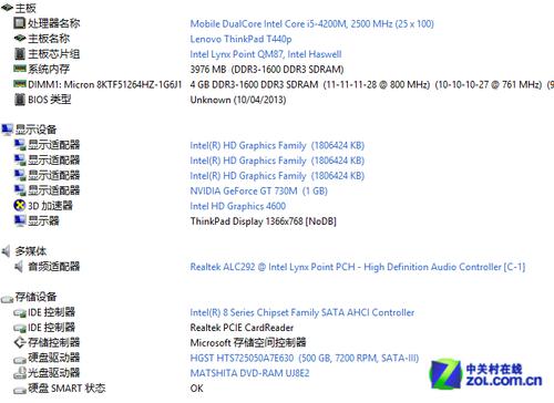 不同于从前的改变ThinkPad T440p评测
