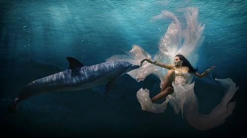 suherman水下人像写真摄影作品-中关村在线