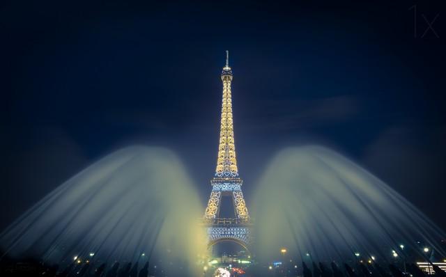 建筑史上的奇迹 各种角度拍埃菲尔铁塔