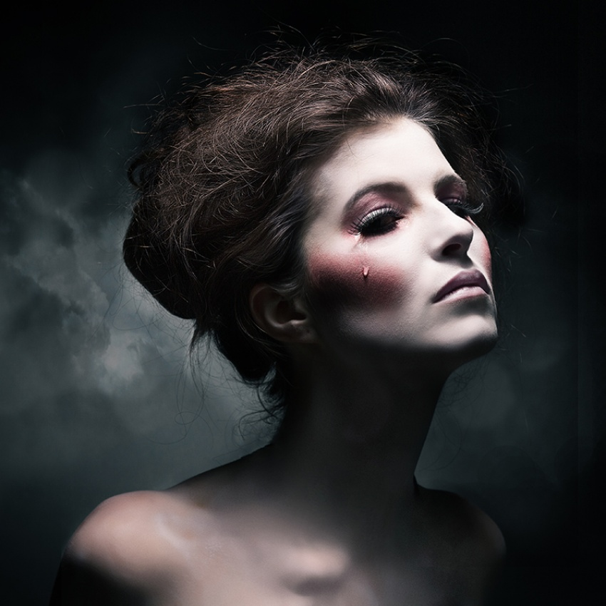 神秘风格性感人像 德国女摄影师作品赏