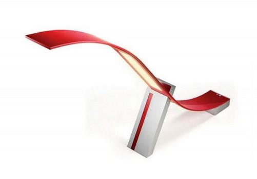 lg曲面台灯采用充满创意的弧形设计