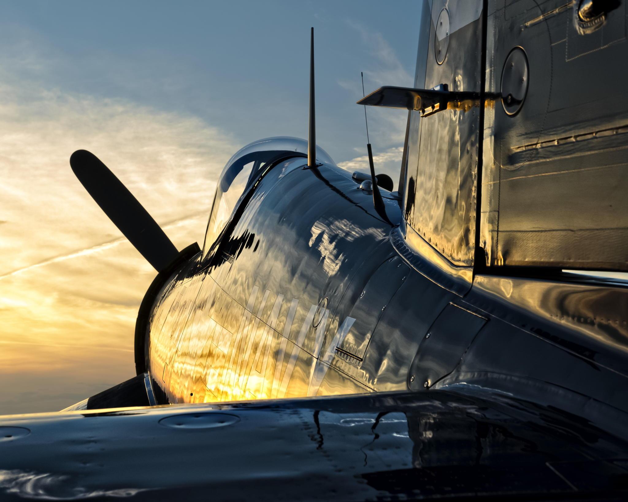 比喷气式更迷人 老式螺旋桨飞机的风采