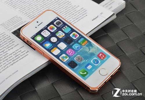 编辑点评:icon-i控iphone 5s金属边框给iphone 5s提供边角防护,多