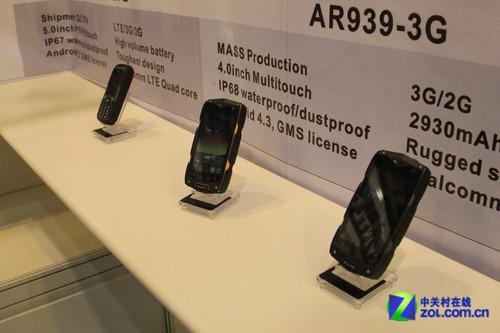 MANN多款三防手机亮相香港春季电子展