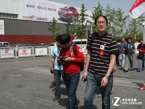 见证北京车展 比亚迪携ZOL网友下线活动