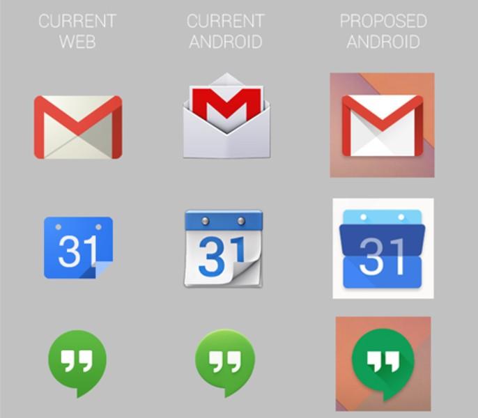 【高清图】 消息称谷歌将重新设计安卓图标 更扁平图2