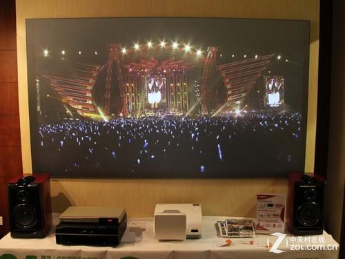 CIT 2014:丽讯展示百�既�高清电视方案